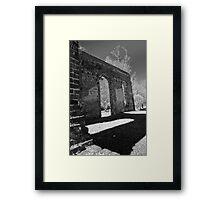 Biggins Church Ruins Framed Print