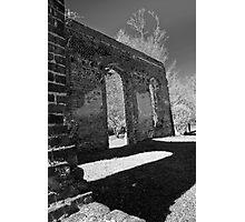 Biggins Church Ruins Photographic Print