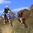 Canobolos Motor Cycle Club - 2 in the Air by Jeff D Photography