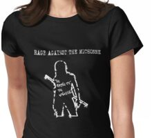 Rage Against The Michonne Womens Fitted T-Shirt