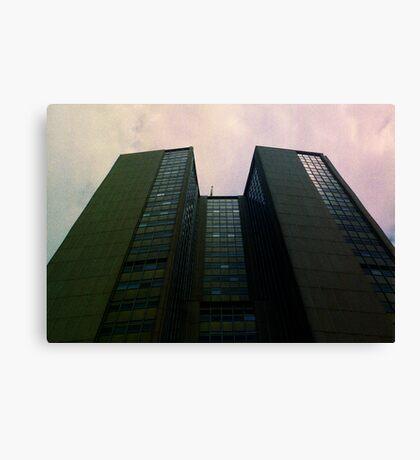 Big City Skyline........the pastel set  # four Canvas Print