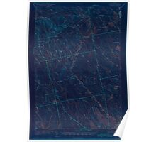 Maine USGS Historical Map Waite 306837 1942 62500 Inversion Poster