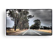 Australian Driving Canvas Print