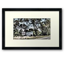 Which Motel? Framed Print