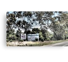 Which Motel? Metal Print