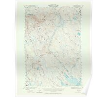 Maine USGS Historical Map Waite 306838 1940 62500 Poster