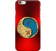 Aries & Tiger Yang Water iPhone Case/Skin