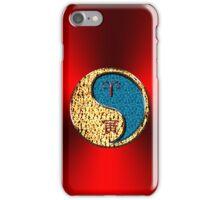 Aries & Tiger Yang Water iPhone Case/Skin