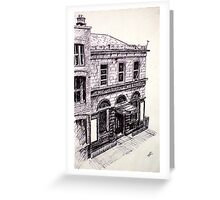 Old abbey Theatre, Dublin, Ireland Greeting Card