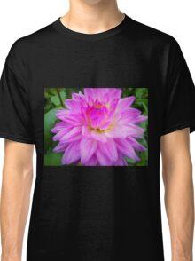 Lavender Glow Dahlia Classic T-Shirt