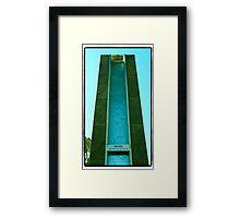 Water Wheel Framed Print