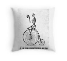 ...If you live Throw Pillow