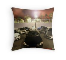 Big Boys Toys Throw Pillow