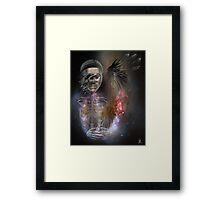 crow shaman Framed Print