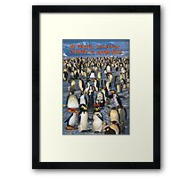 My Penguin Collection Escaped to Antarctica Framed Print