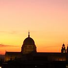 Cathedral at Sunset by Honor Kyne