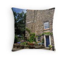 Castle Hill, Lancaster Throw Pillow