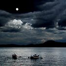Twice in a Blue Moon - Newfound Lake NH by Wayne King