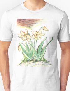 Glorious Daffodils Unisex T-Shirt