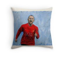 0-1 United Throw Pillow