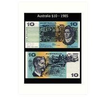 Australia $10 - 1985 Art Print
