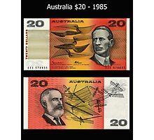 Australia $20 - 1985 Photographic Print