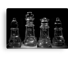 Chess 6: Before the game opens... Canvas Print