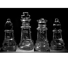 Chess 6: Before the game opens... Photographic Print