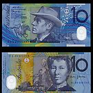 Australia $10 - 1993 by Robert Abraham