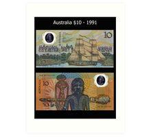 Australia $10 - 1991 Art Print