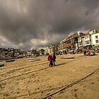 Stormy Sky's at St Ives  by Rob Hawkins