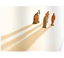 Guided by the light Poster