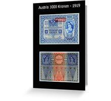 Austria - 1919 Greeting Card