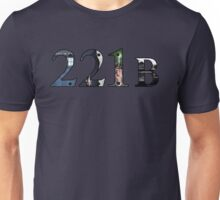 SuperWhoLock Important Things Within 221B Unisex T-Shirt