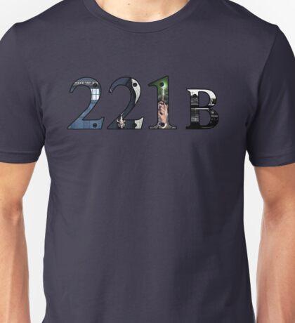SuperWhoLock Important Things Within 221B Unisex T-Shirt