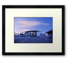Fremantle Maritime Museum At Dusk   Framed Print