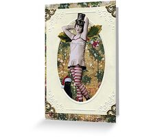 Holly Berry Greeting Card