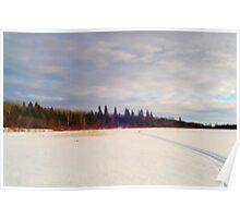 Across The Frozen Lake. Poster