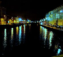 The Harbour Canal II by HELUA