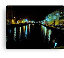 The Harbour Canal II Canvas Print