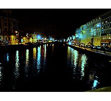 The Harbour Canal II Photographic Print
