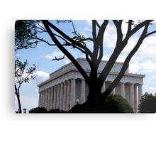 Lincoln Memorial, Washington DC Metal Print