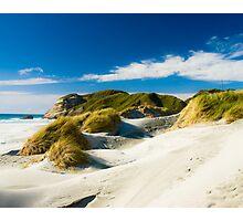 wharariki beach Photographic Print