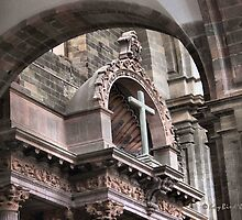 Though The Archways To The Cross by Kay  G Larsen