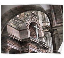 Though The Archways To The Cross Poster