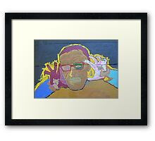 Eddie White Framed Print