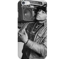 LL Cool J B/W iPhone Case/Skin