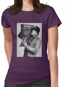 LL Cool J B/W Womens Fitted T-Shirt