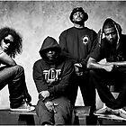 Black Hippy B/W by Manoley