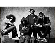 Black Hippy B/W Photographic Print